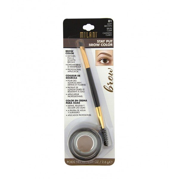01 Castaño Claro Stay Put Brow Color