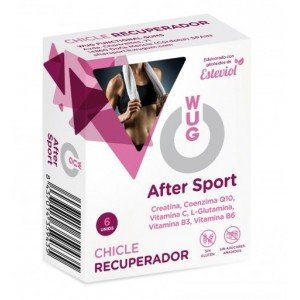 Chicle Recuperador After Sport