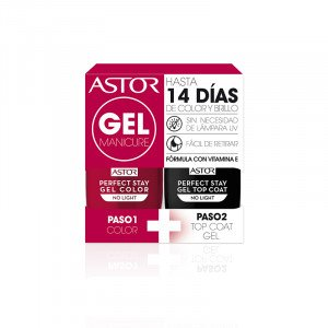 Pack Perfect Stay Dúo Gel + Top Coat 107